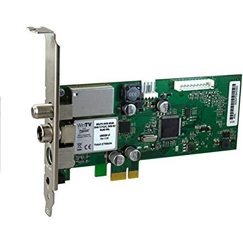 Hauppauge WinTV-HVR-5525HD - 01432 - HD PCI-Express Karte (Hybrid TV-Tuner für DVB-C, DVB-T2/T, DVB-S2/S, Analog-TV und mit A/V-Eingang)