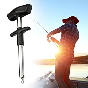 LonTime Easy Fish Hook Remover Tool - 2019 New Squeeze-Out Fish Hook Separator Tools, Portable Easy Reach Stainless Steel Fishing Hooks Extractor, Fast Decoupling, No Injury