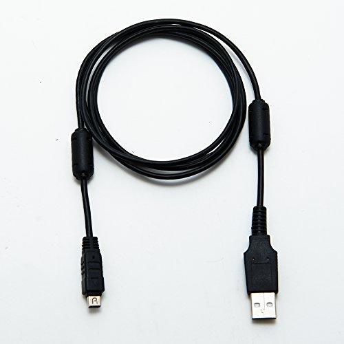Olympus CB-USB5 / CB-USB6 Cavo USB Cavo USB Cavo di piombo da Keple | Trasferimento di immagine/caricabatteria Compatibile con OLYMPUS E-410 | 1m