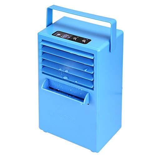 Portable Air Conditioner Fan 9.5-inch Small Desktop Fan Personal Misting Fan Mini Evaporative Air Cooler Circulator Humidifier