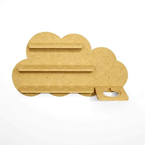Toniebox Regal Wolke zum selber bauen und anmalen, Wandregal für...