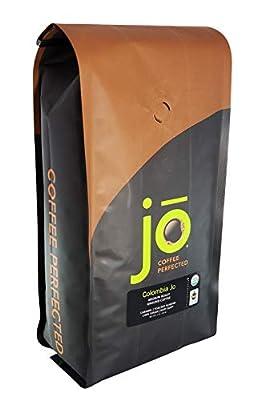 COLOMBIA JO: Organic Ground Colombian Coffee, Medium Roast, Fair Trade Certified, USDA Certified Organic, 100% Arabica Coffee, NON-GMO, Gluten Free, Gourmet Coffee from Jo Coffee