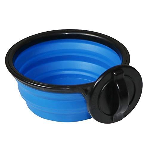Onbekend hondenmand draagbare puppy hondenkom huisdier collapsable Bowl hangend op cage milieuvriendelijk Pet Supplies watertoevoer hondenkom grote honden L