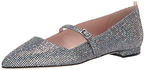 SJP by Sarah Jessica Parker Women's Vana Pointed Toe Mary Jane Flat, Scintillate, 40 M EU (9.5 US)