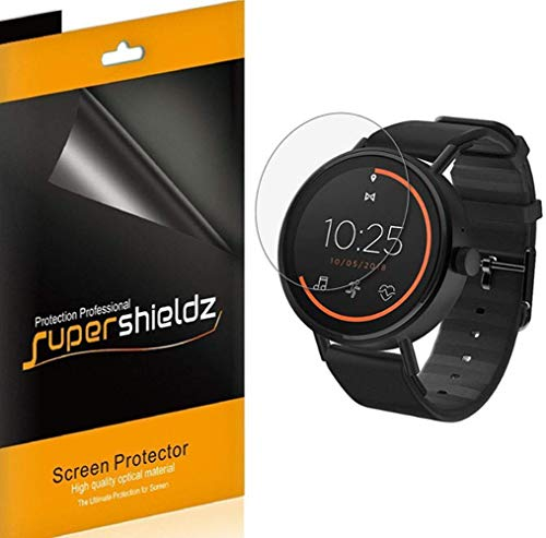 (6 Pack) Supershieldz Designed for Misfit Vapor 2 (46mm) Screen Protector, 0.23mm, High Definition Clear Shield (PET)