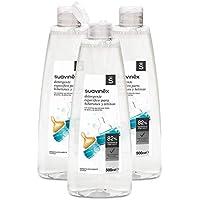 Suavinex - Pack de 3 detergentes de 500 ml para biberones y tetinas,  sin perfume