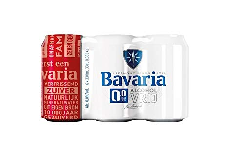 24 Dosen Bavaria Bier 0% (24 x 0,33L) Alkoholfreies Bier