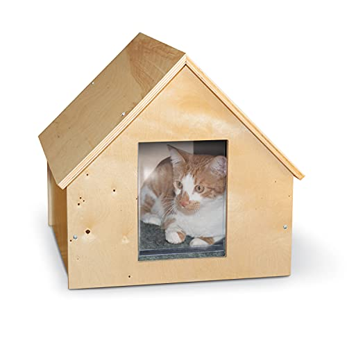 K&H Pet Products Thermo Birchwood Manor Kitty Home Unheated...