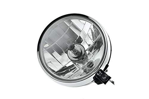 Scheinwerfer Halogen H4 Klarglas für Simson S51 S70 S50 mit Standlicht und Prüfzeichen
