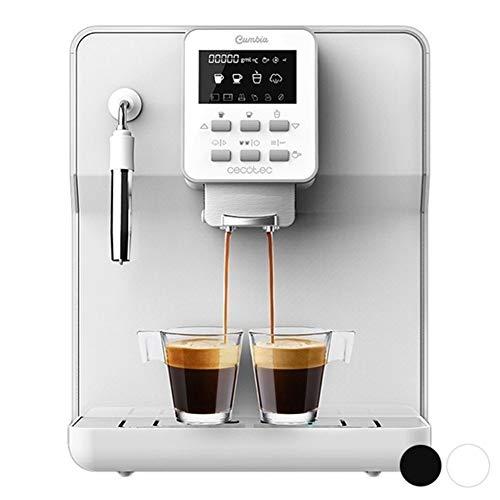 Express Manuel Machine à café Cecotec électrique Matic-ccino 6000 1,7 L 19 Bar LCD 1350W (Color : White)