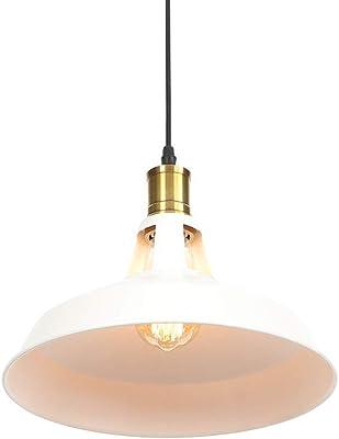 ASCELINA Loft Vintage L/ámpara de techo colgante industrial l/ámpara LED para restaurante//barra//hogar creativo l/ámpara colgante de cadena l/ámpara