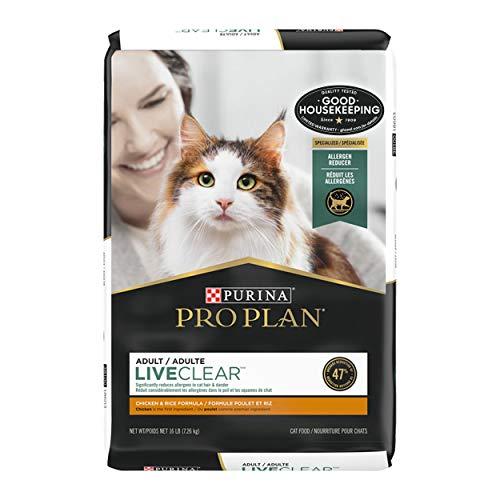 Purina Pro Plan LiveClear Adult Dry Cat Food w/ Probiotics