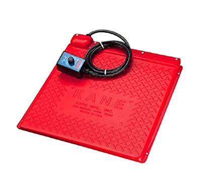 KANE Pet Heat Mat (Heated Pet Pad) 110-120V for Newborn Puppy, Kitten, Hedgehog, Reptiles: Tortoise, Snake (Self Regulated, Rheostat/Thermostat Control), Various Size (Thermostat, 18x18)