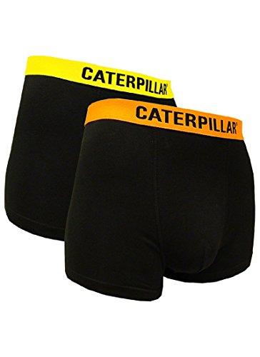 Caterpillar Herren Boxershort/Retroshort, (L/50/6, 2 Hosen Fluo)