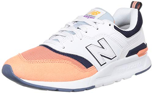 New Balance CW997HBD, Trail Running Shoe Mujer, Blanco, 32 EU