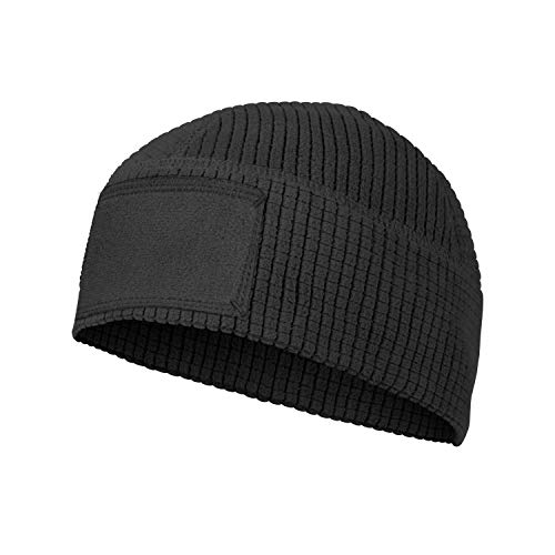 Helikon-Tex Range Beanie Cap - Grid Fleece SCHWARZ M/Regular