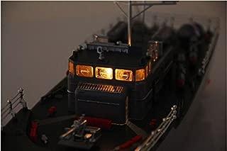Warship Radio Remote Control Fish Torpedo Boat with Simulation Light Submarine Toy