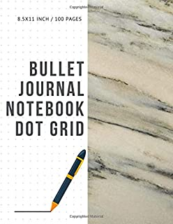 Bullet Journal Notebook Dot Grid: Cheap Composition Journals Books College Ruled To Write In Letter Paper Size 8.5 X 11 Volume 68