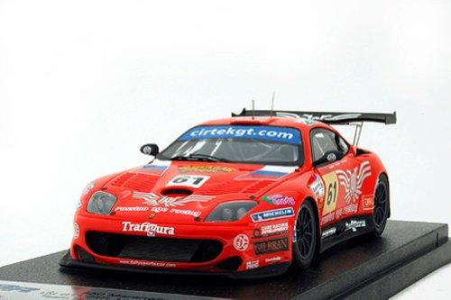 BBR 1/43 Ferrari 550 Maranello Red #61 24h. Le Mans 2006 Team Russian Age Racing Limited 200 Pcs. BG311