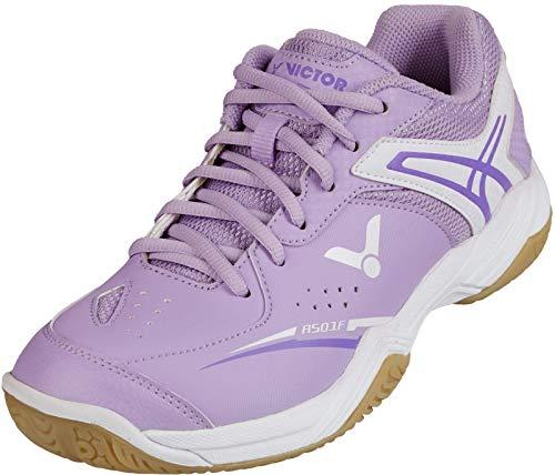 VICTOR Badmintonschuh/Squashschuh/Traininsschuh A501F Light Purple - 37,5