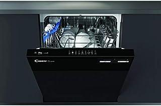 Lave vaisselle encastrable 60 cm Candy CDSN2D350PB - Lave vaisselle integrable Bandeau noir - Classe énergétique A++ / Aff...