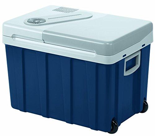 Mobicool W40, tragbare elektrische Kühlbox mit Rollen, 39 Liter, 12/24 V und 230 V für Auto, Lkw, Boot, Reisemobil und Steckdose