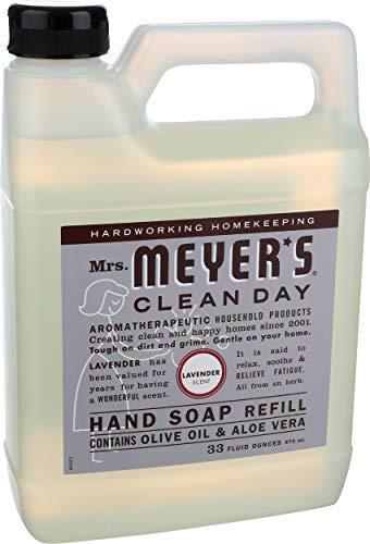 Mrs Meyer's, Soap Hand Liquid Refill Lavender, 33 Fl Oz