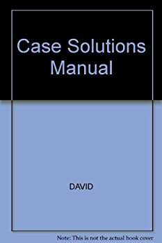 Strategic Management: Case Solutions Manual [With CDROM] 0130998753 Book Cover