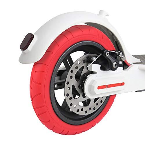 Verdelif Neumático para Patinete eléctrico de 10 Pulgadas, Ruedas de Repuesto para Patinete eléctrico, Neumático Inflable para Patinete eléctrico Neumático de Equilibrio del Tubo Exterior