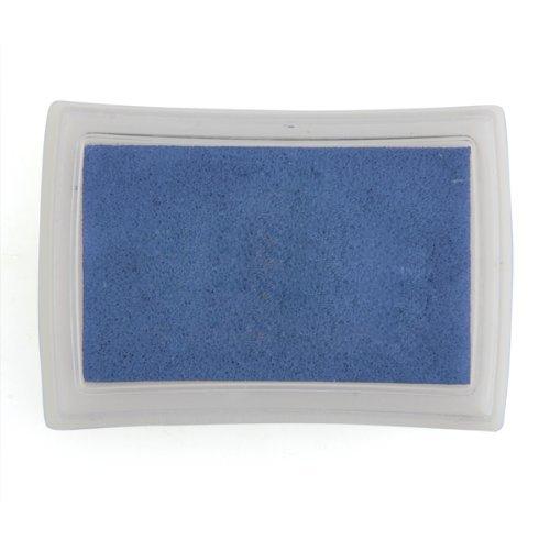 Almohadilla Tinta para Sello Tampón Color Azul para Niños No Tóxico