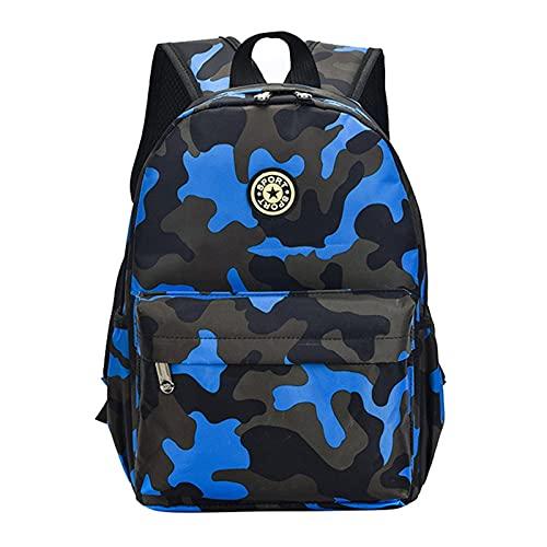 YUANLIN Mochilas Escolares Bolsos de la Escuela para niños Mochilas para niños Niños Schoolbags Teenager Boys & GirlsRugzak Mochilas ortopédicas Mochilas Escolares Juveniles (Color : Blue Big)