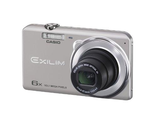 CASIO デジタルカメラ EXILIM EXZS26SR 1610万画素 光学6倍ズーム 広角26mm EX-ZS26SR シルバー