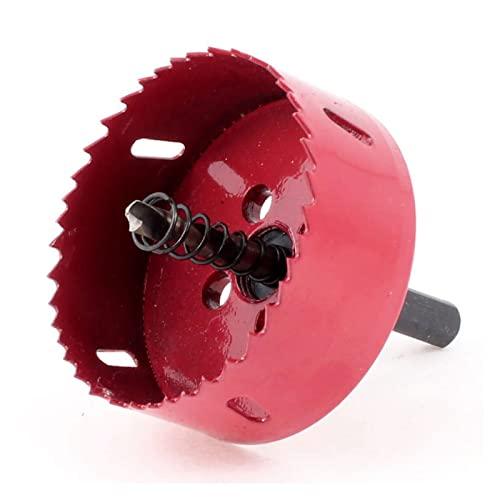 JUSTJING Set Multifunzione Multiuso for Trapano Bimetal Hole Sega con Diametro 70mm e stinco da 10mm