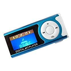 MOBIRON Digital MP3 Music Player LCD Display with LED Torch, Memory Card/TF Support for All Smartphones