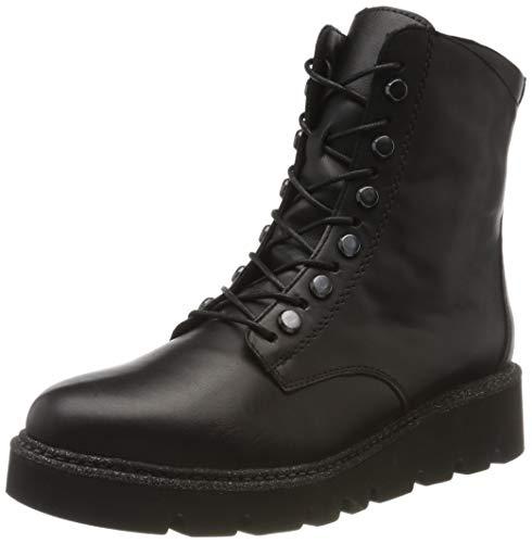 Remonte Damen R8076 Combat Boots, Schwarz (Schwarz/Schwarz 01), 39 EU
