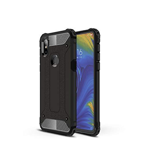 Botongda Funda Xiaomi Mi Mix 3 5G,Carcasa Resistente a los Golpes y a los arañazos con Tapa Posterior con una combinación de PC Resistente y TPU Suave para Xiaomi Mi Mix 3 5G(Negro)