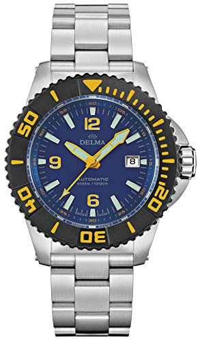 DELMA - Armbanduhr - Herren - Blue Shark III - 54701.700.6.044