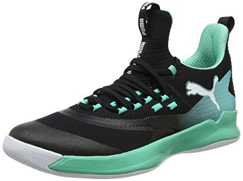 Puma Unisex-Erwachsene Rise XT Fuse 2 Multisport Indoor Schuhe, Schwarz Black-Biscay Green White, 44.5 EU