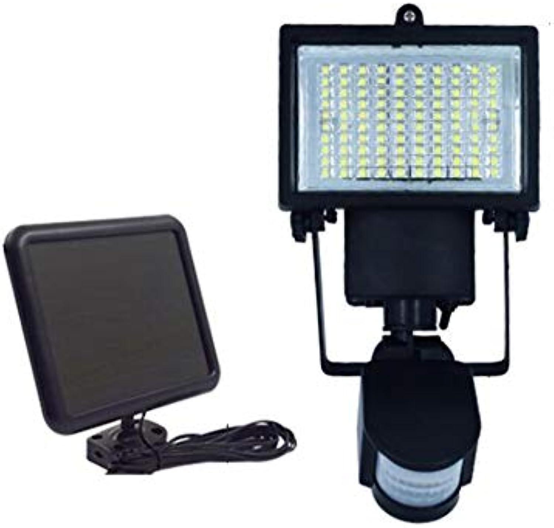 Hongge Solarlampen für auen,100LED menschlichen Krpers Sensor leuchtet Villa Garten Solarleuchten Garage Street Lampe Licht Projektion