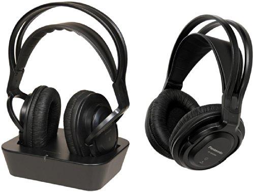 Panasonic RP-WF830WE-K Cuffie Extra Wireless, Circumaurali, 18-22000 Hz, 200 MW, 96 dB, 71 Ω, Nero