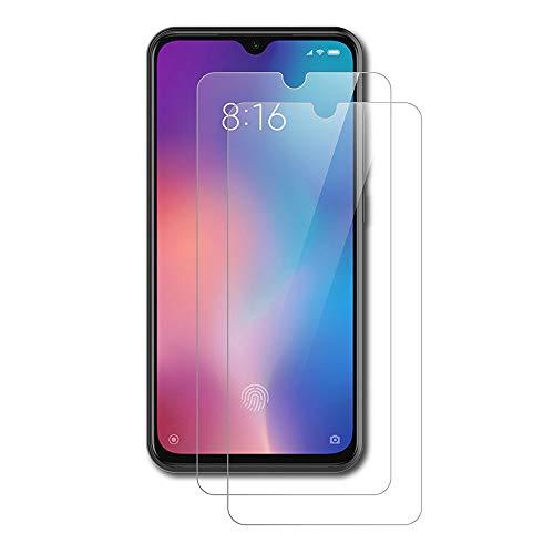 AICEK [2 Stück] Xiaomi Mi 9 SE Schutzfolie, Tempered Glass Bildschirmschutzfolie für Xiaomi 9 SE Schutzglas Screen Protector Gehärtetem Glas Bildschirmschutz Xiaomi Mi 9 SE Panzerglas (5,97 Zoll)