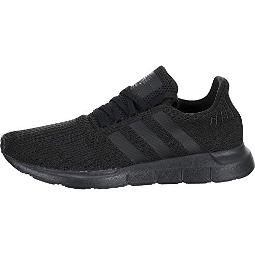 adidas Originals Men's Swift Run Sneaker, Black/Black, 8 M US