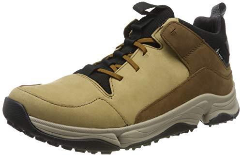 Clarks Herren Tri Path Mid Hohe Sneaker, Braun (Tan Combi Tan Combi), 44.5 EU
