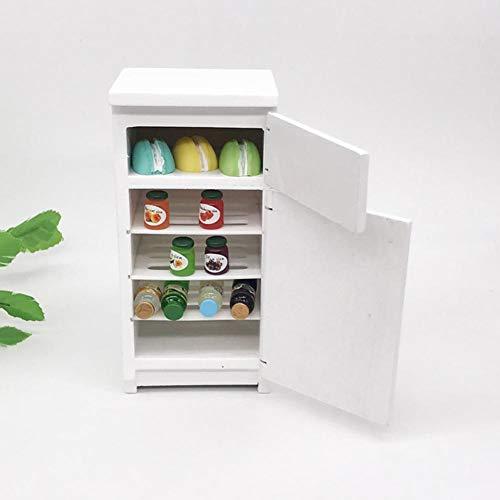 banapo Holzkühlschrank, Foto Requisiten Küchenzubehör Möbel Modell Spielzeug Modell Mini Gefrierschrank