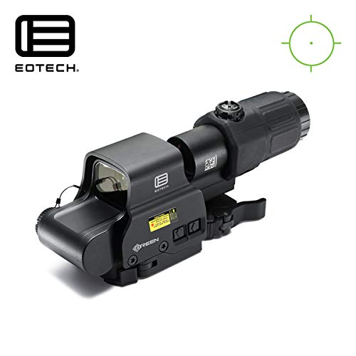 HHS Green Holographic Hybrid Sight - EXPS2-0GRN with G33 Magnifier