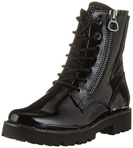 MARCO TOZZI Damen 2-2-25224-35 Stiefelette, Black Patent, 36 EU