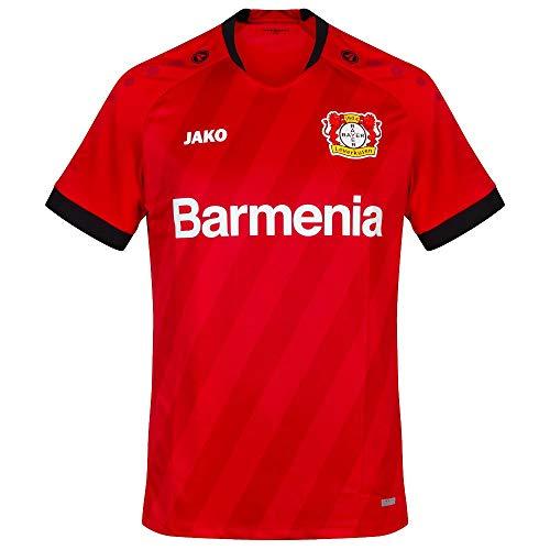 JAKO B04 Leverkusen Trikot Heim 2019/2020 rot Kinder rot, 164