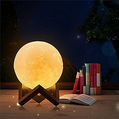 Personalizado: esta es una lámpara de luz de luna personalizada, puede cargar las fotos de su familia, bebé, amigos, anime o sus fotos favoritas para diseñar su propia luz nocturna. También puede escribir su nombre o desee texto para personalizar la ...
