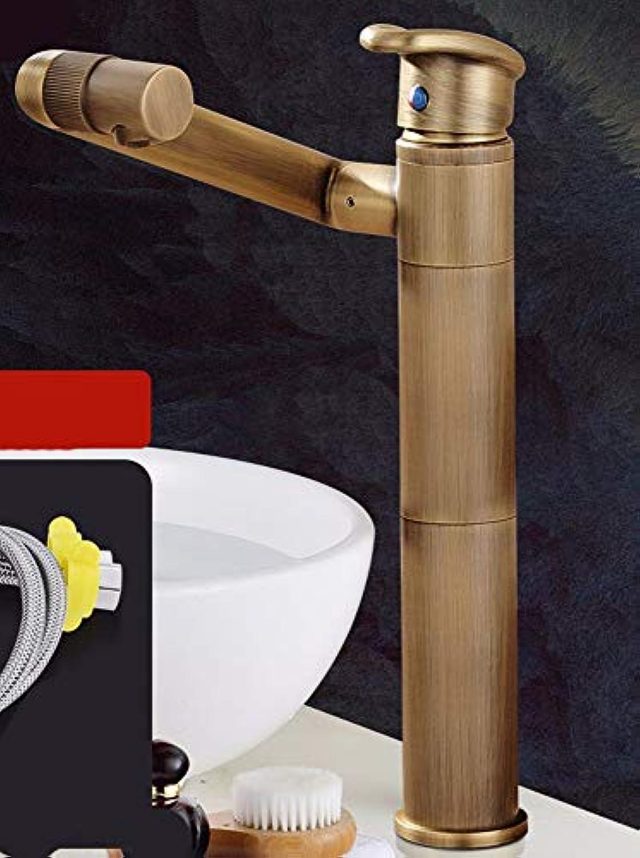 Ywqwdae Kupferschwinger im Retro-Stil im europischen Stil mit heiem und kaltem Becken