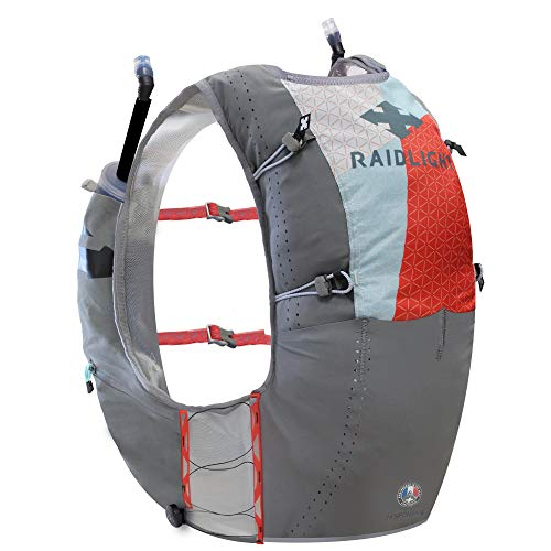 Raidlight Responsiv Vest 6L - Mochila Trail, color gris, tamaño large
